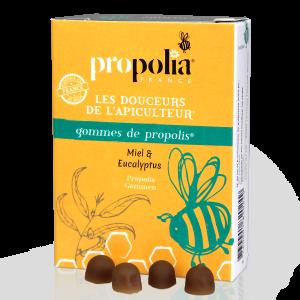 Gommes de propolis au miel & eucalyptus